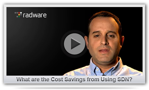 What is the Cost Savings for SDN Solutions?