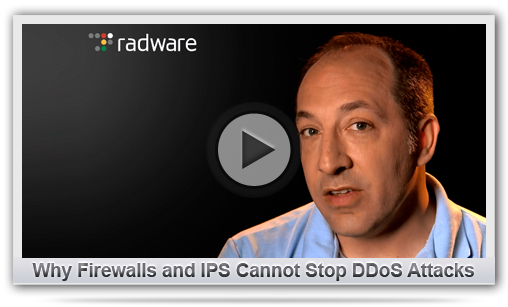Why Firewalls and IPS Cannot Stop DDoS Attacks
