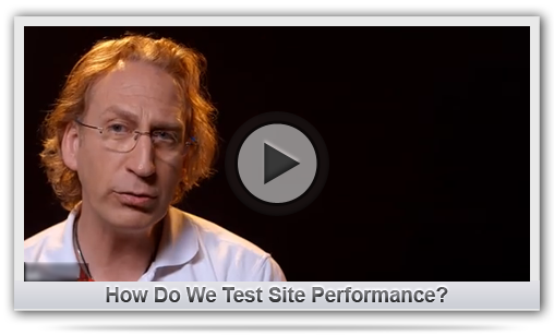How Do We Test Site Performance?