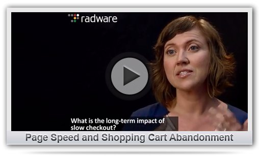 Page Speed and Shopping Cart Abandonment