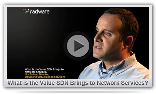 What is the Value SDN Brings to Network Services?