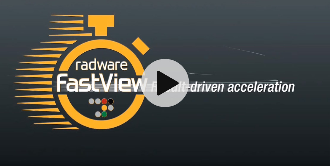 Fastview Web Acceleration and Web Performance Optimization | Radware