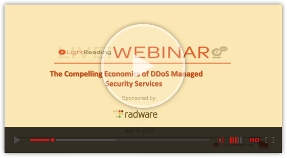 The Compelling Economics of DDoS Managed Security Services